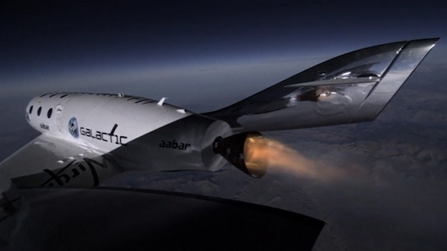Virgin Galactic SpaceshipTwo Completes Test Flight