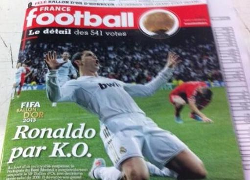 ballon d'or Cristiano Ronaldo