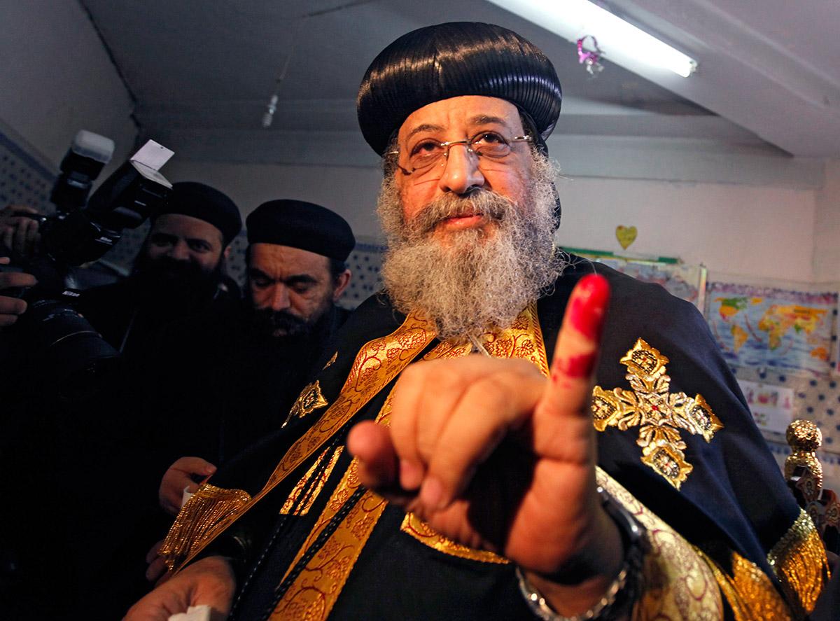 egypt pope