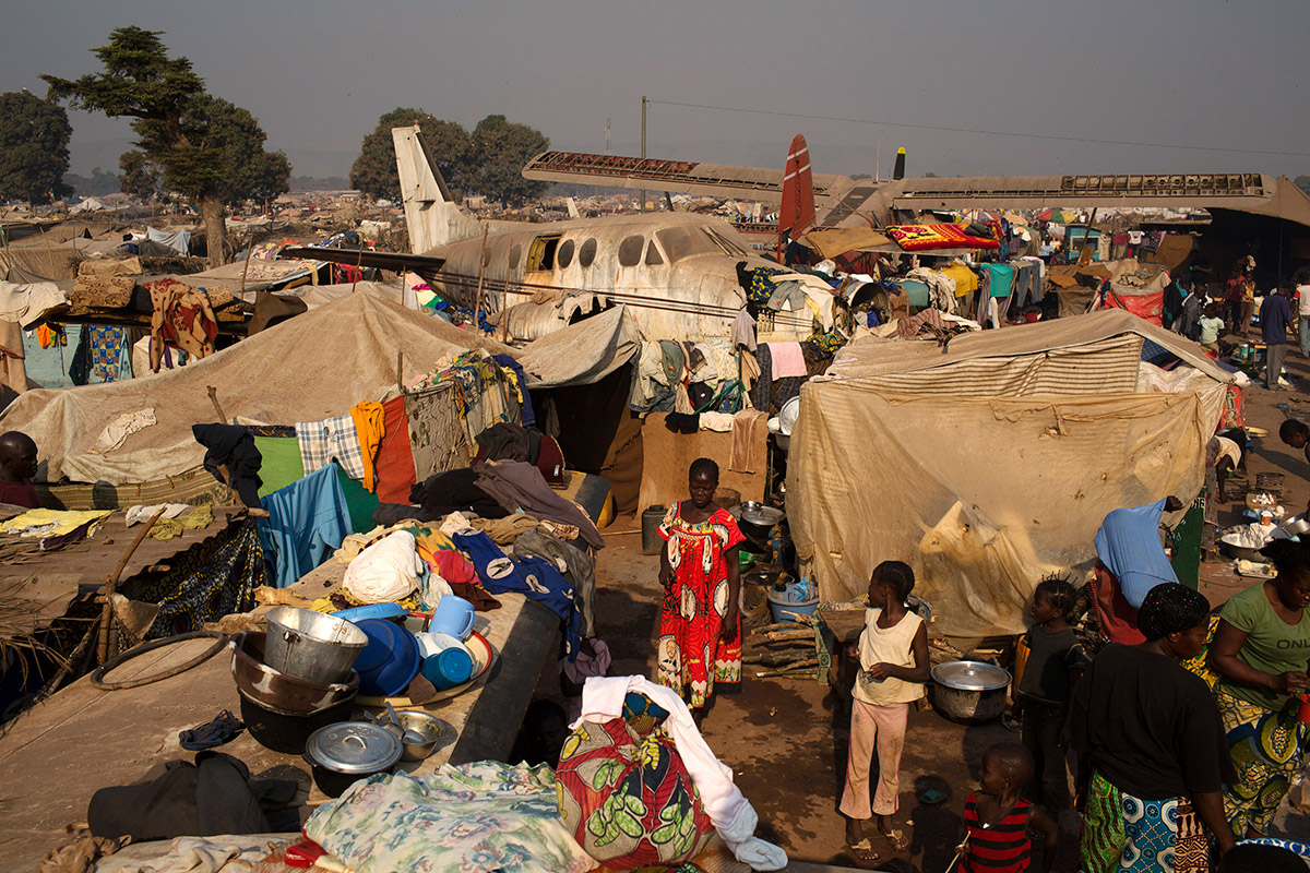 central african republic plane