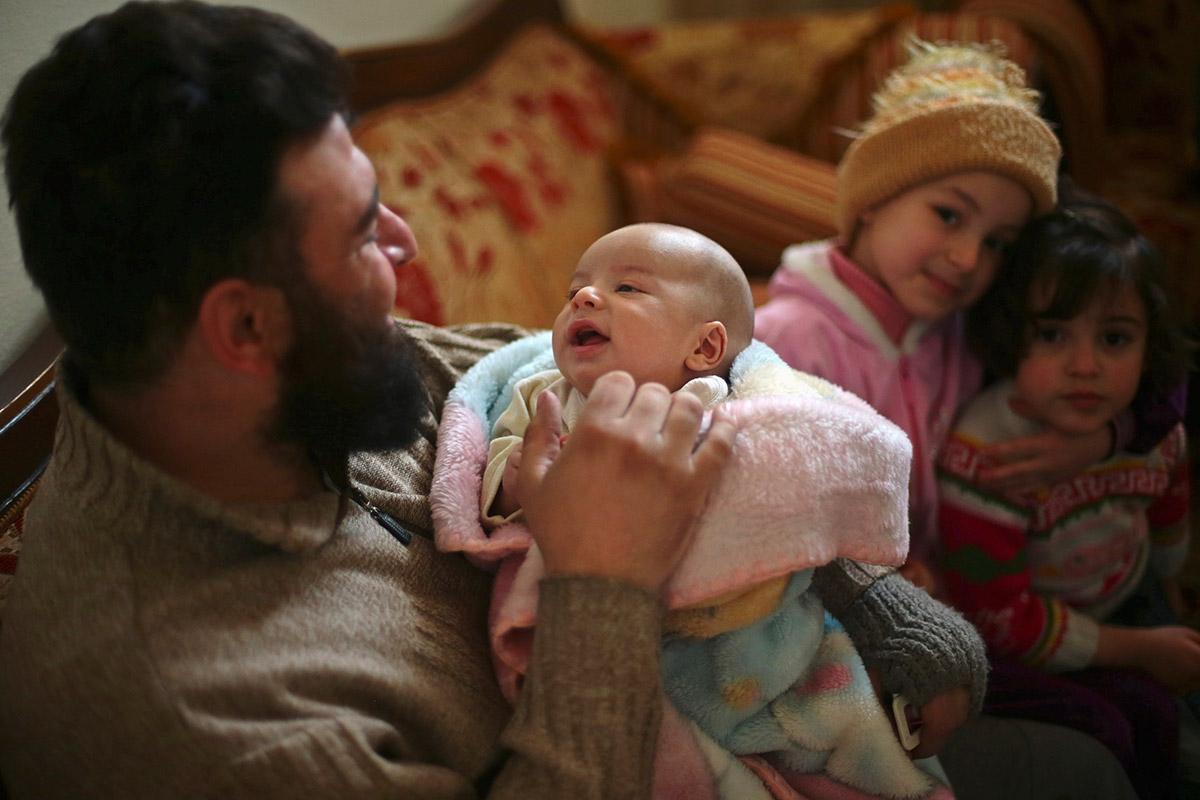 syria bomb baby