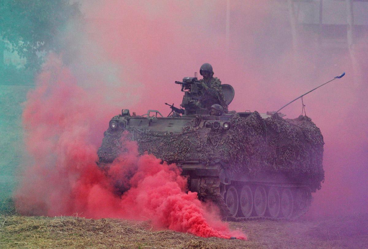 tank smoke