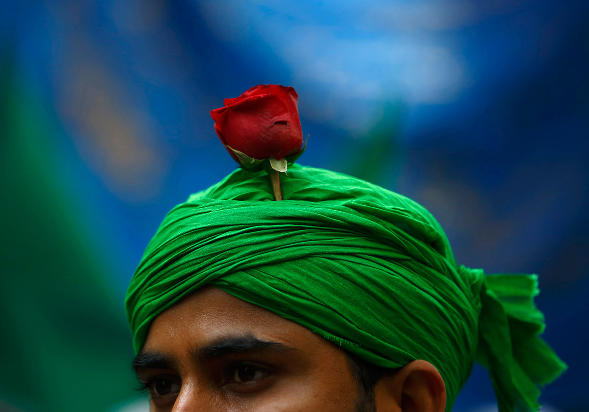 turban rose