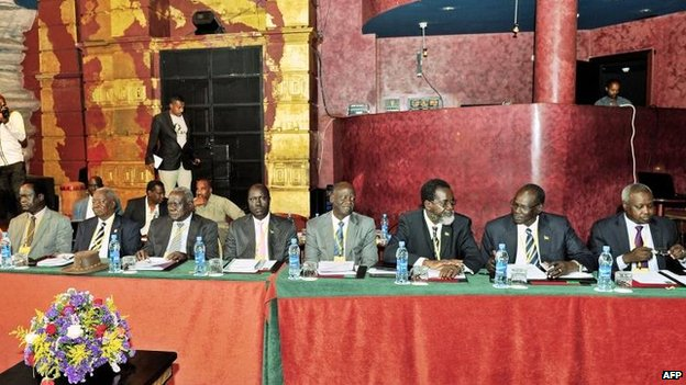 South Sudan peace talks in nightclub