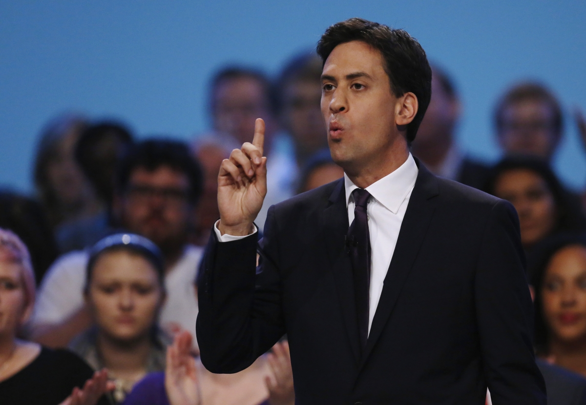 Labour's Ed Miliband: Banking System Not Serving Real Economy