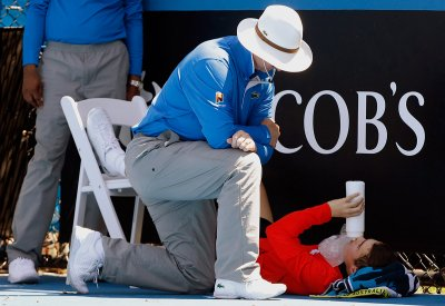 ball boy collapse