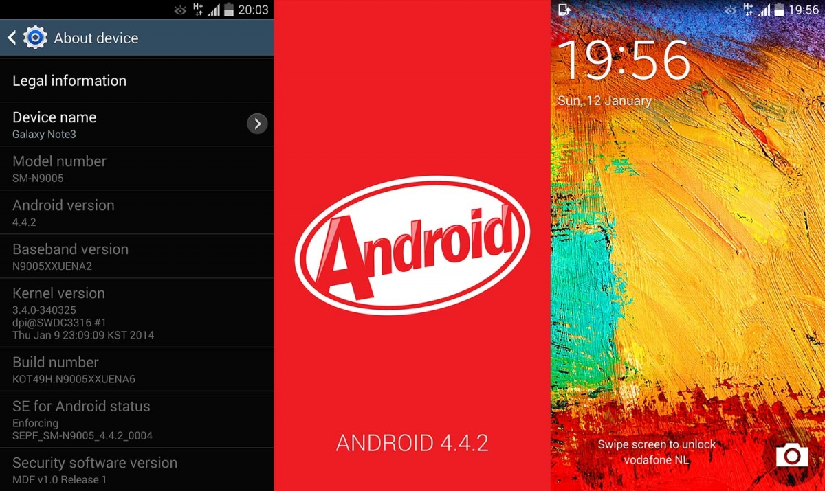 Samsung Rolling Out Android 4.4.2 KitKat to Galaxy Note 3 (SM-N9005), Changelog Revealed [How to Install and Root]