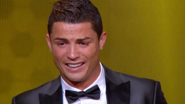 Cristiano Ronaldo Wins 2013 Ballon D'Or