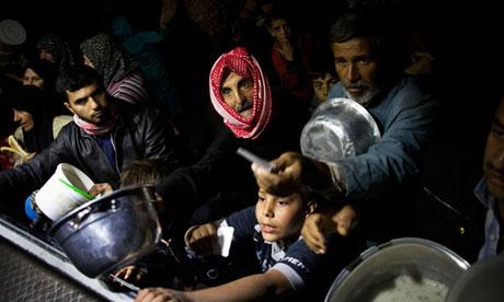 Syrian refugees,