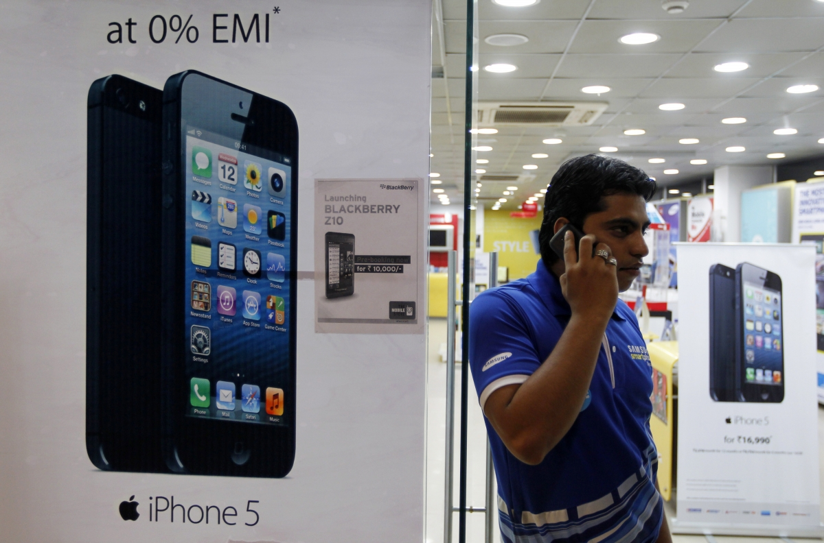 Apple is relaunching the iPhone 4 in India where sales of the iPhone 5 have slowed.