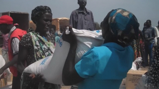 WFP Steps Up Aid to South Sudanese Fleeing Conflict
