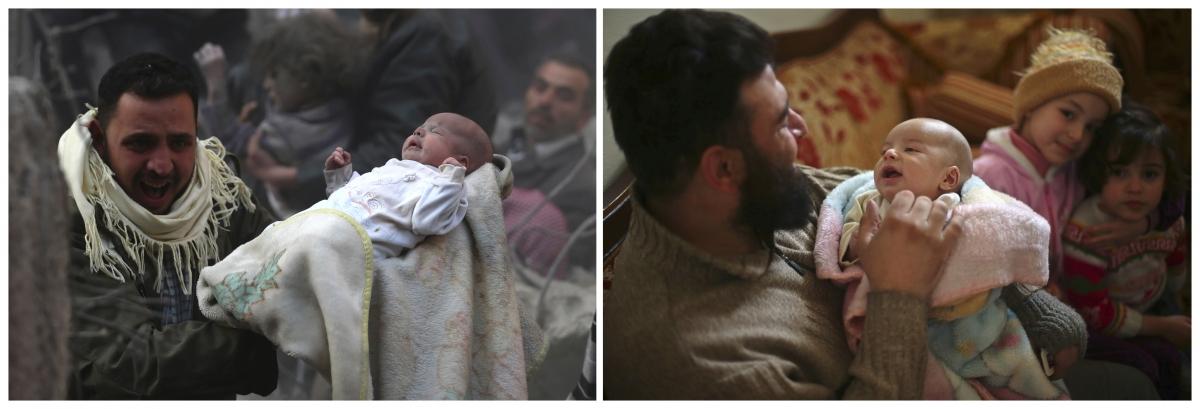 Rateb Malis - Syrian baby survivor