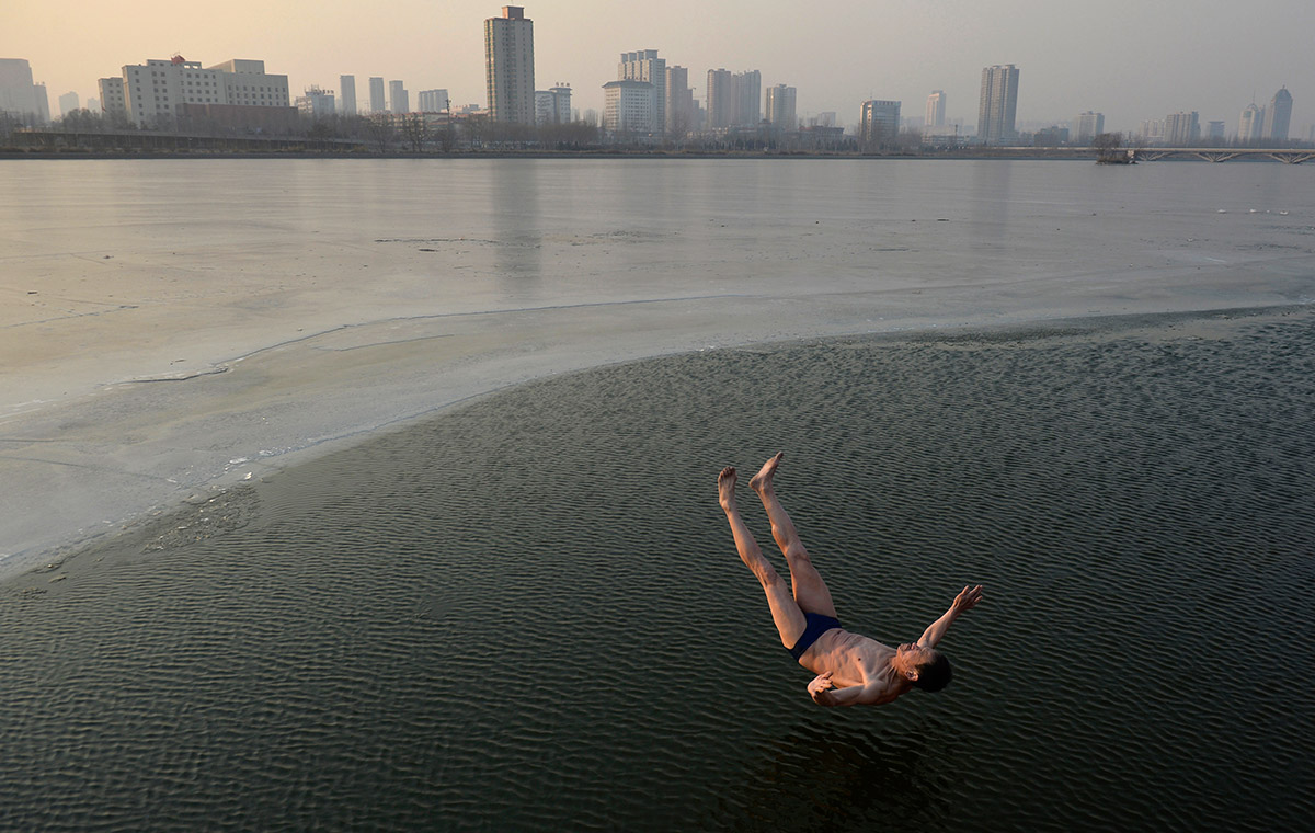 china weather swim