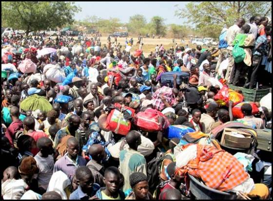 South Sudan conflict refugees