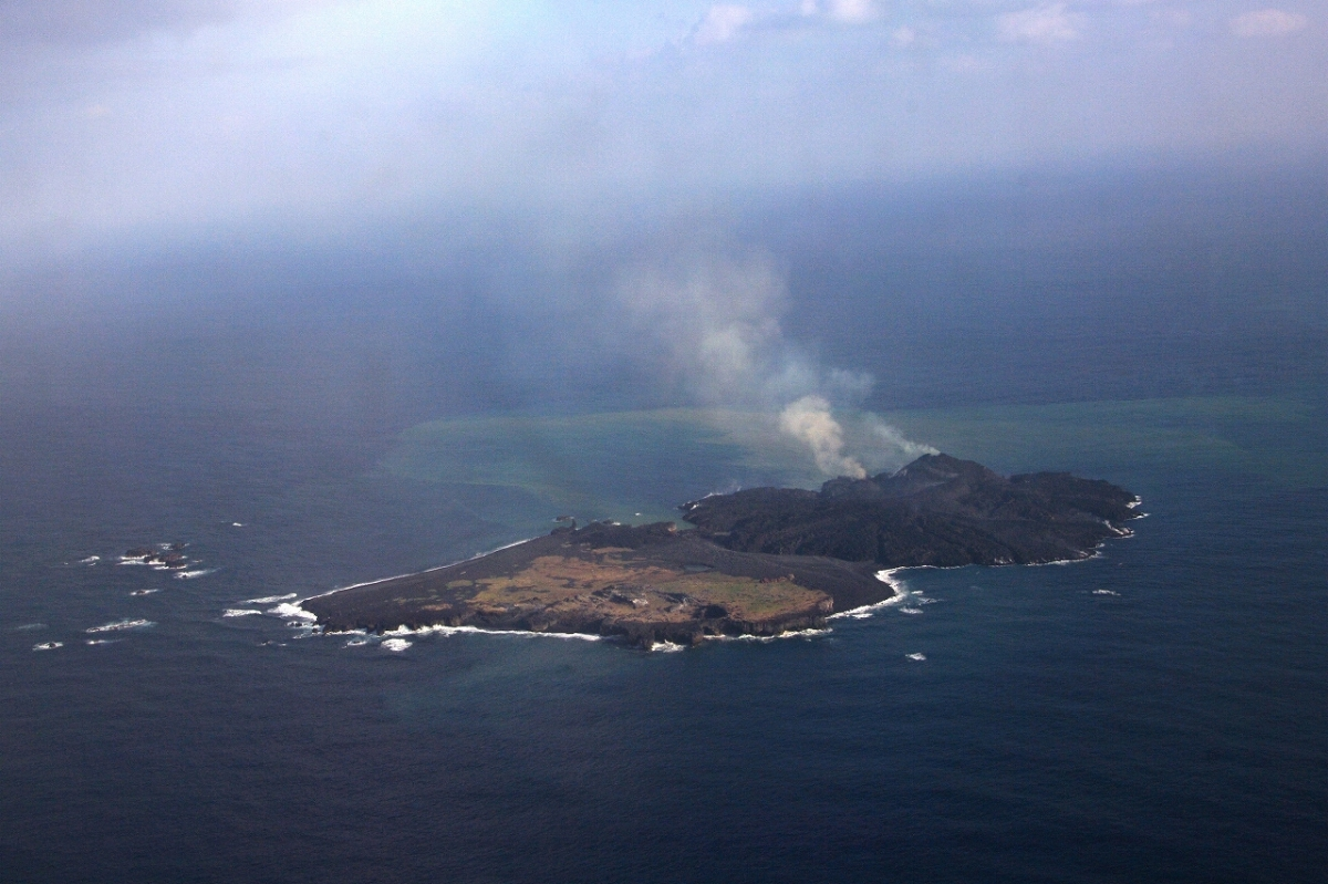 Japan: Volcanic Island Niijima 'Has Potential to Survive ...