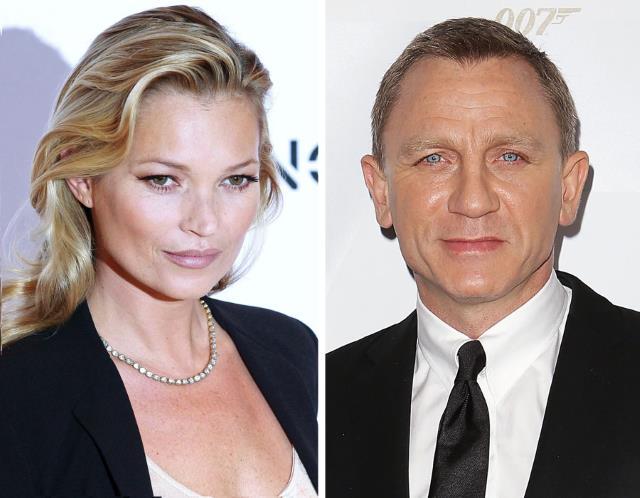Kate Moss, Daniel Craig