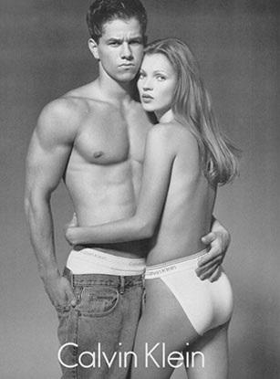 Kate Moss, Mark Wahlberg