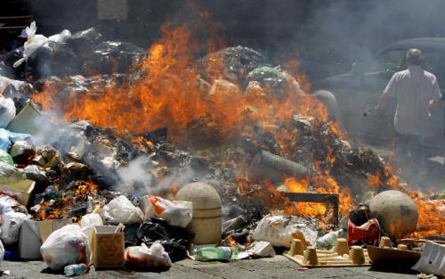Mafia dump waste