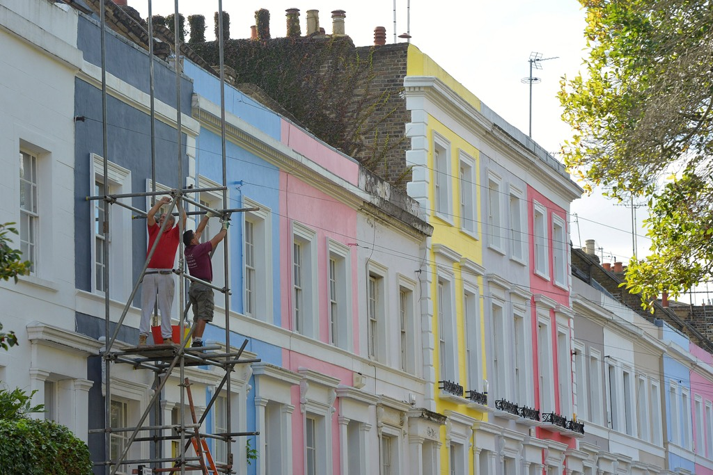 Uk house price rise expectations strike 14 year high in for House notting hill