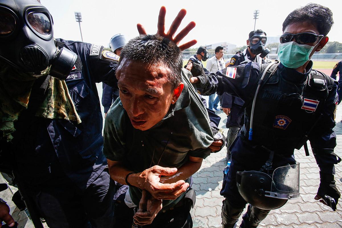 bangkok arrest