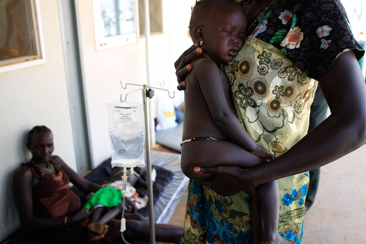 sudan baby hospital