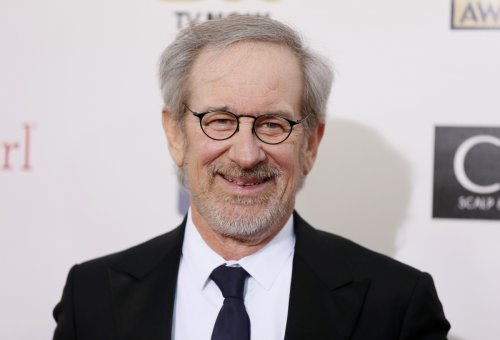 Director Steven Spielberg arrives at the 2013 Critic's Choice Awards in Santa Monica, California.