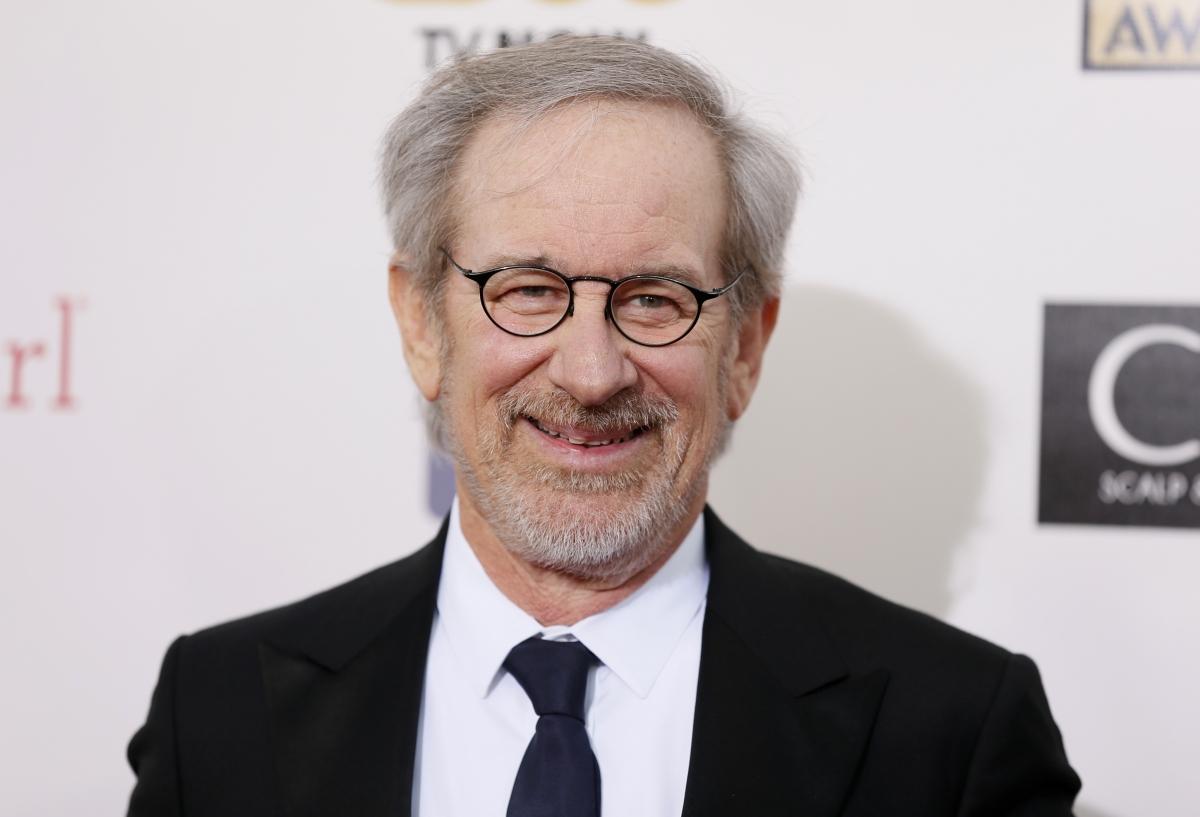 Director Steven Spielberg arrives at the 2013 Critic's Choice Awards in Santa Monica, California.