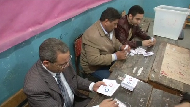 Egyptian Voters Back New Constitution in Early Results