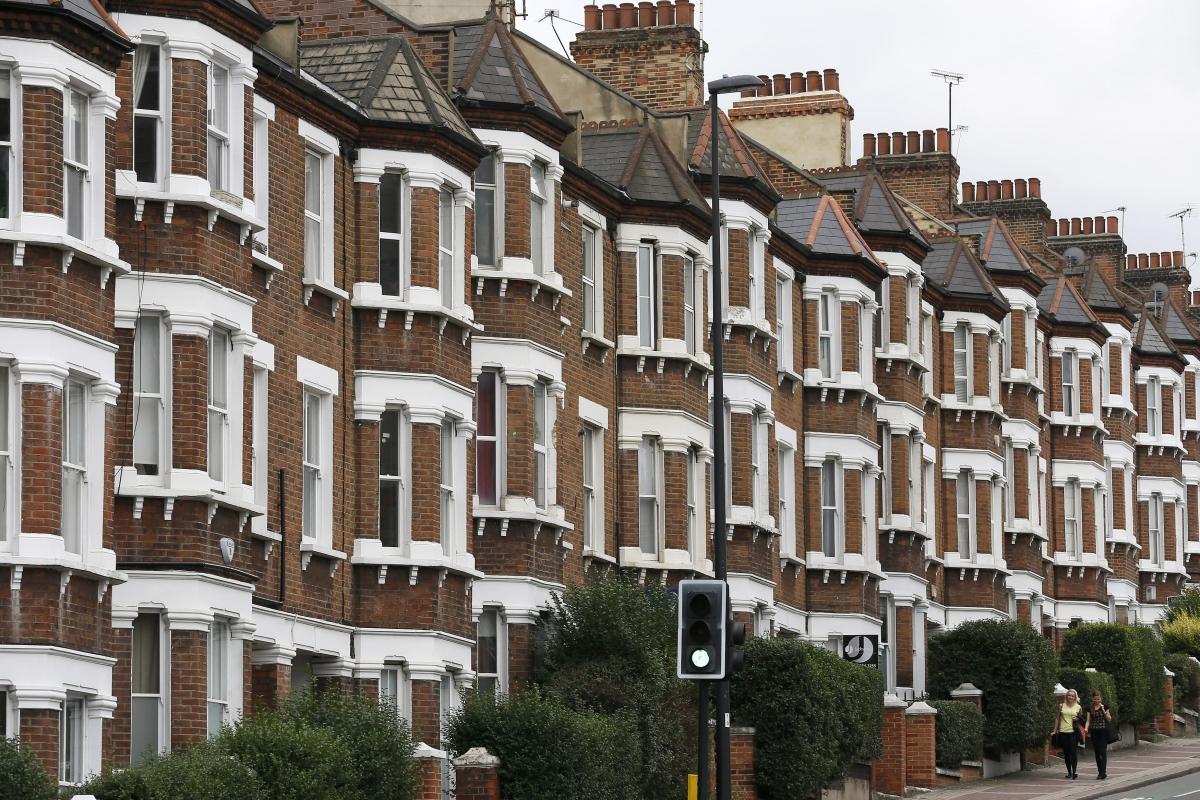 UK housing rents