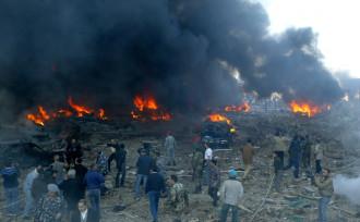 Beirut Rafik Hariri Bomb