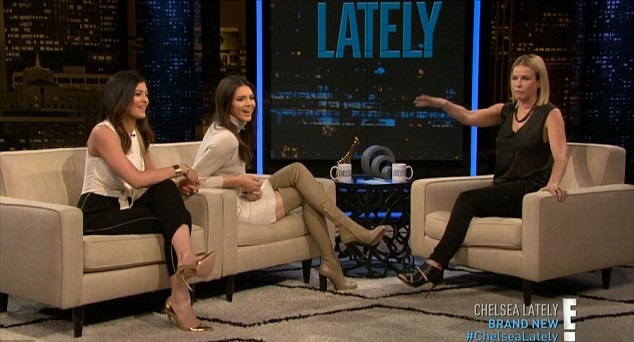 Kendall Jenner on Chelsea Lately