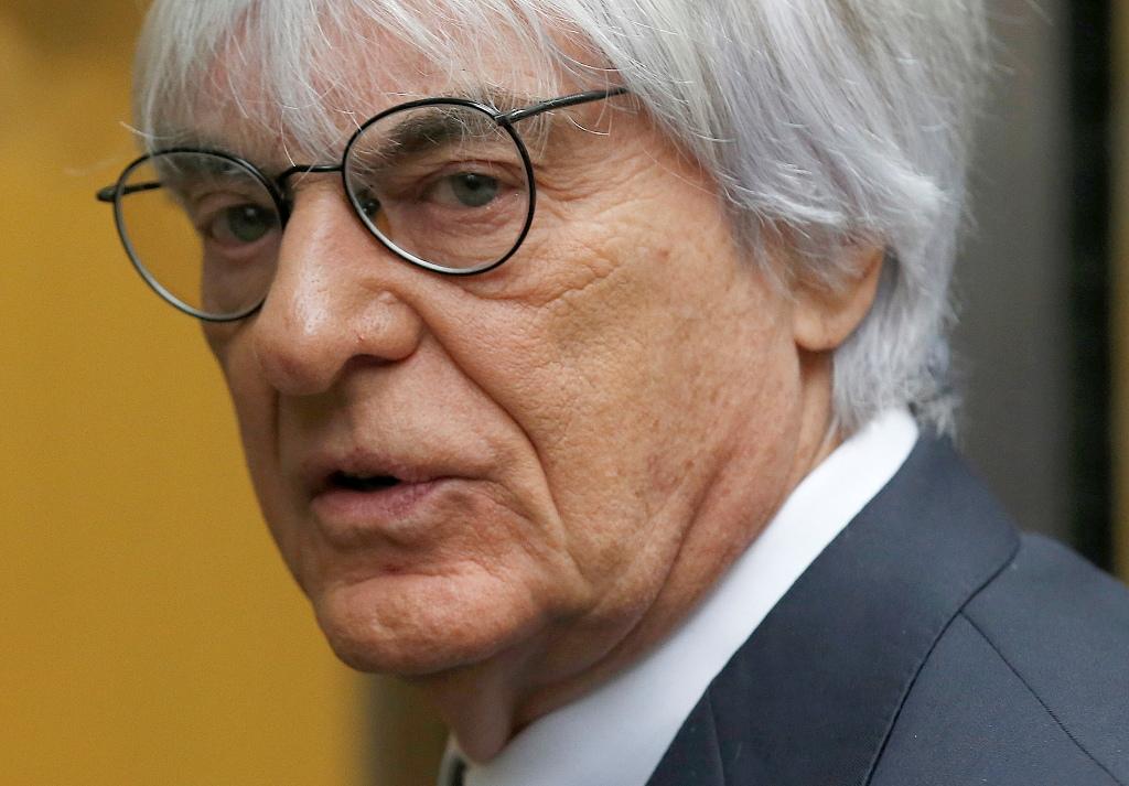 Bernie Ecclestone F1