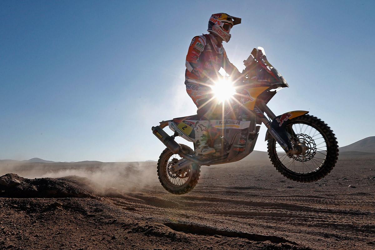 dakar bike sun