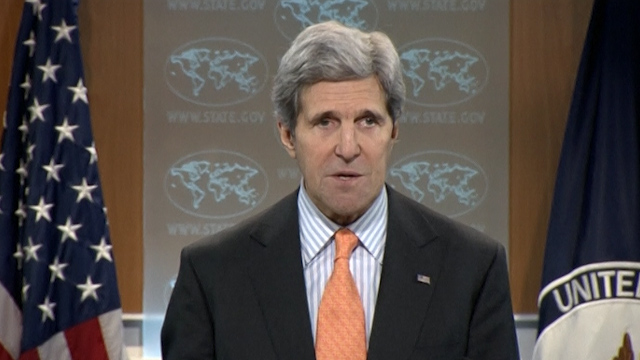 Kerry Urges Syrian Opposition to Attend Peace Talks