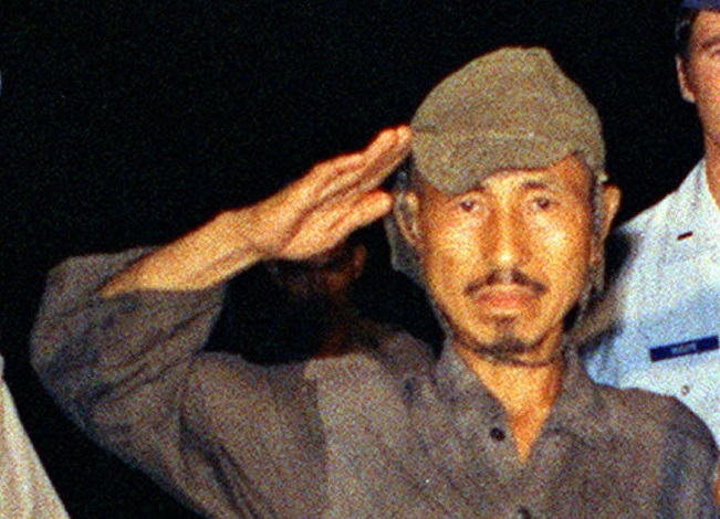 Lieutenant Hiroo Onoda officially finishes WWII - in 1974