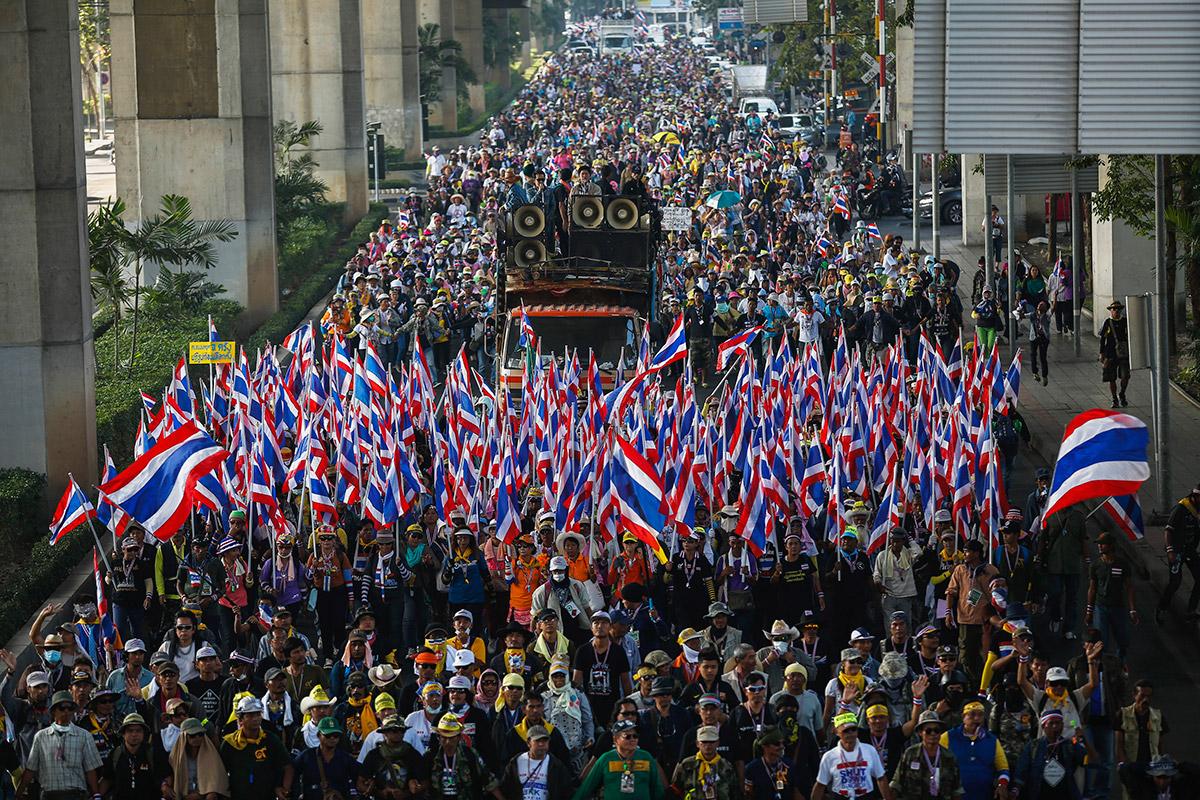 bangkok march