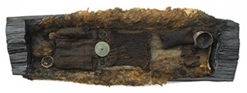 Young woman, believed to be a priestess, buried in an oak trunk coffin