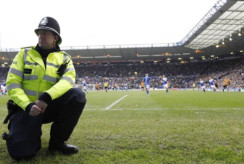football fan arrested