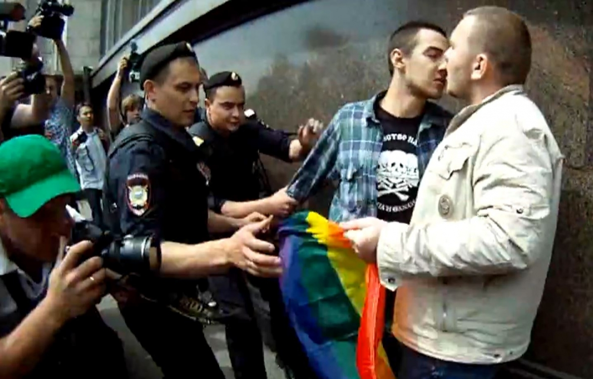 Russia anti-gay law