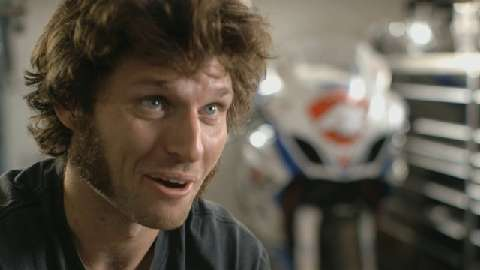 Guy Martin is the new world record holder for speed on a gravity powered sledge