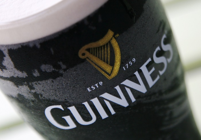 Popular Irish dry stout brewer Guinness is now owned by Diageo.