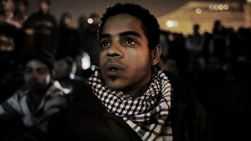 Ahmed Hassan, a young revoltutionary fighting for change in Egypt