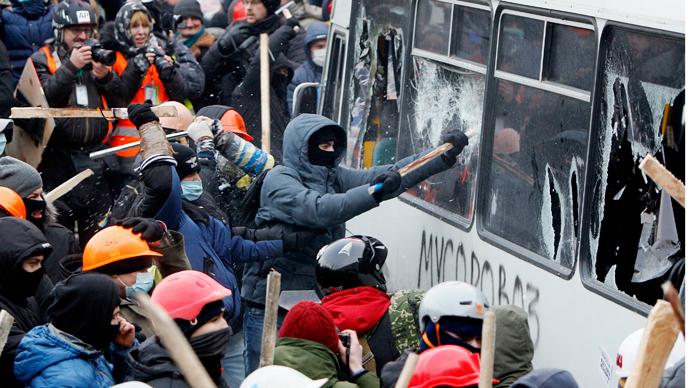Clashes in Kiev