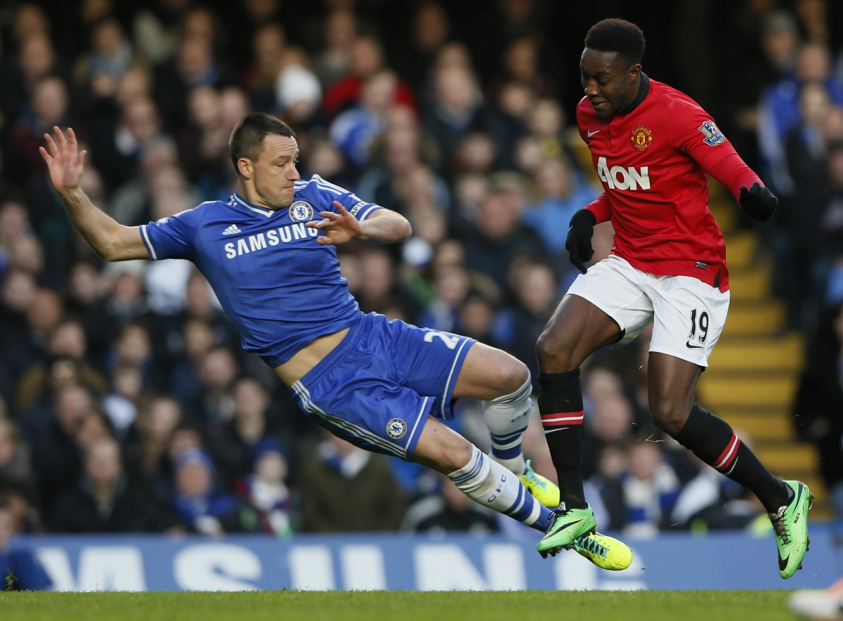 John Terry and Danny Welbeck