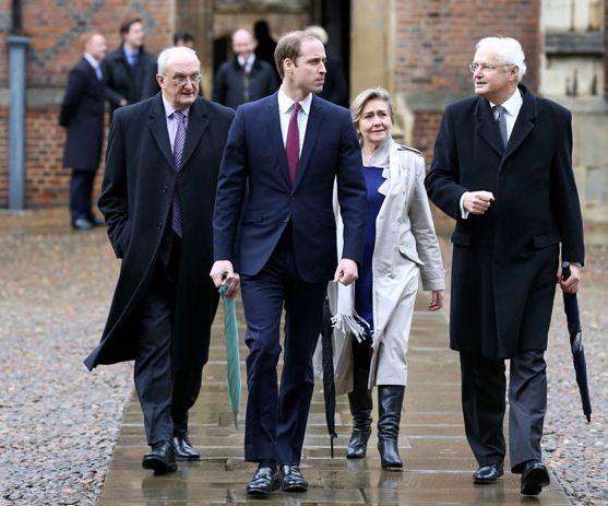 Prince William at Cambridge University