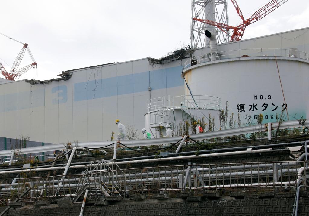 Fukushima Daiichi Nuclear Plant No.3 Reactor Building