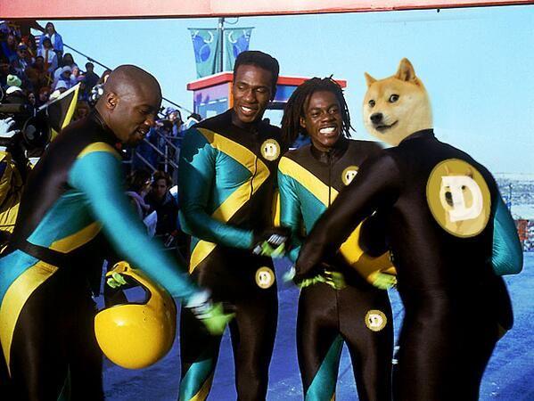 Dogecoin Raising Funds for Jamaican Bobsleigh Team
