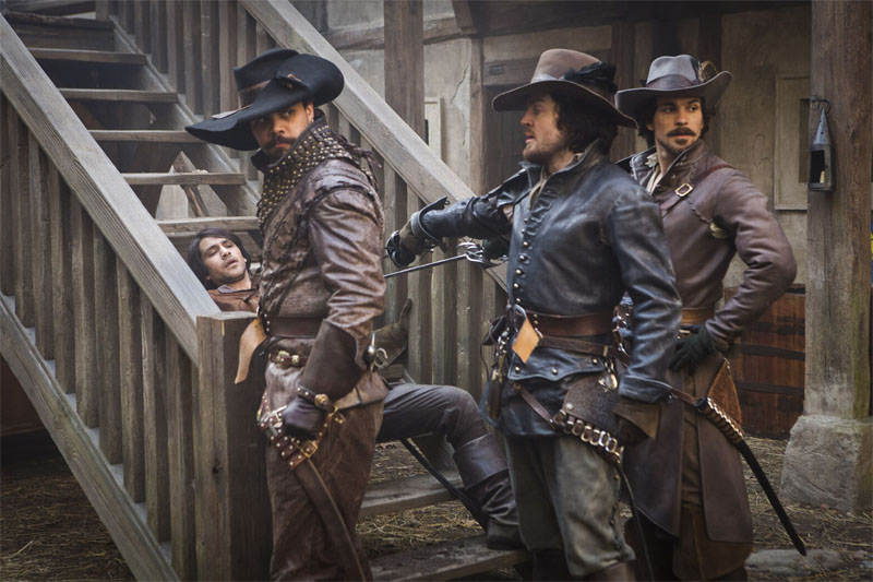 BBC's The Musketeers