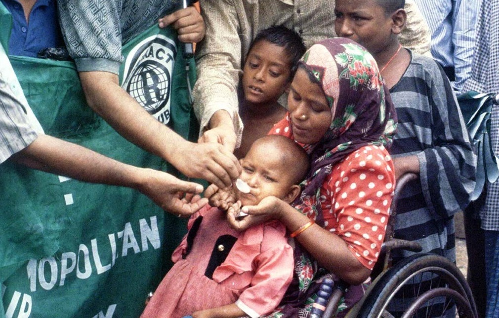 Indian mother and child hookworm