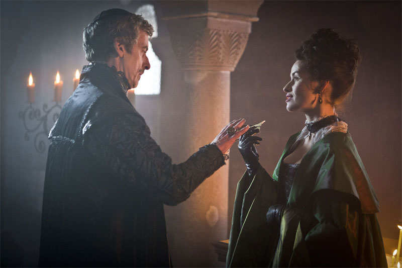 Peter Capaldi and Maimie McCoy impress as the dastardly Cardinal Richelieu and Milady